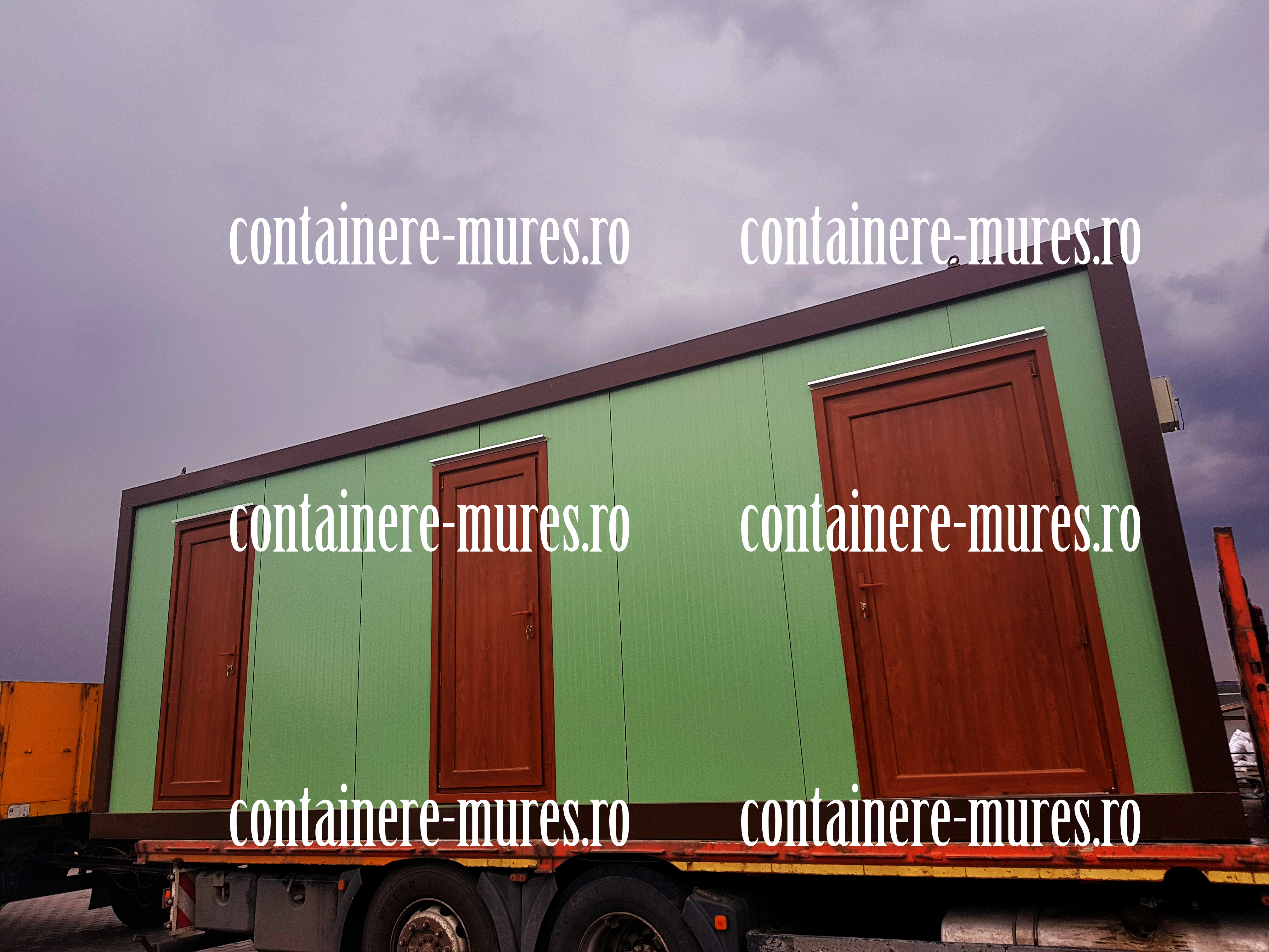 casa din containere maritime pret Mures