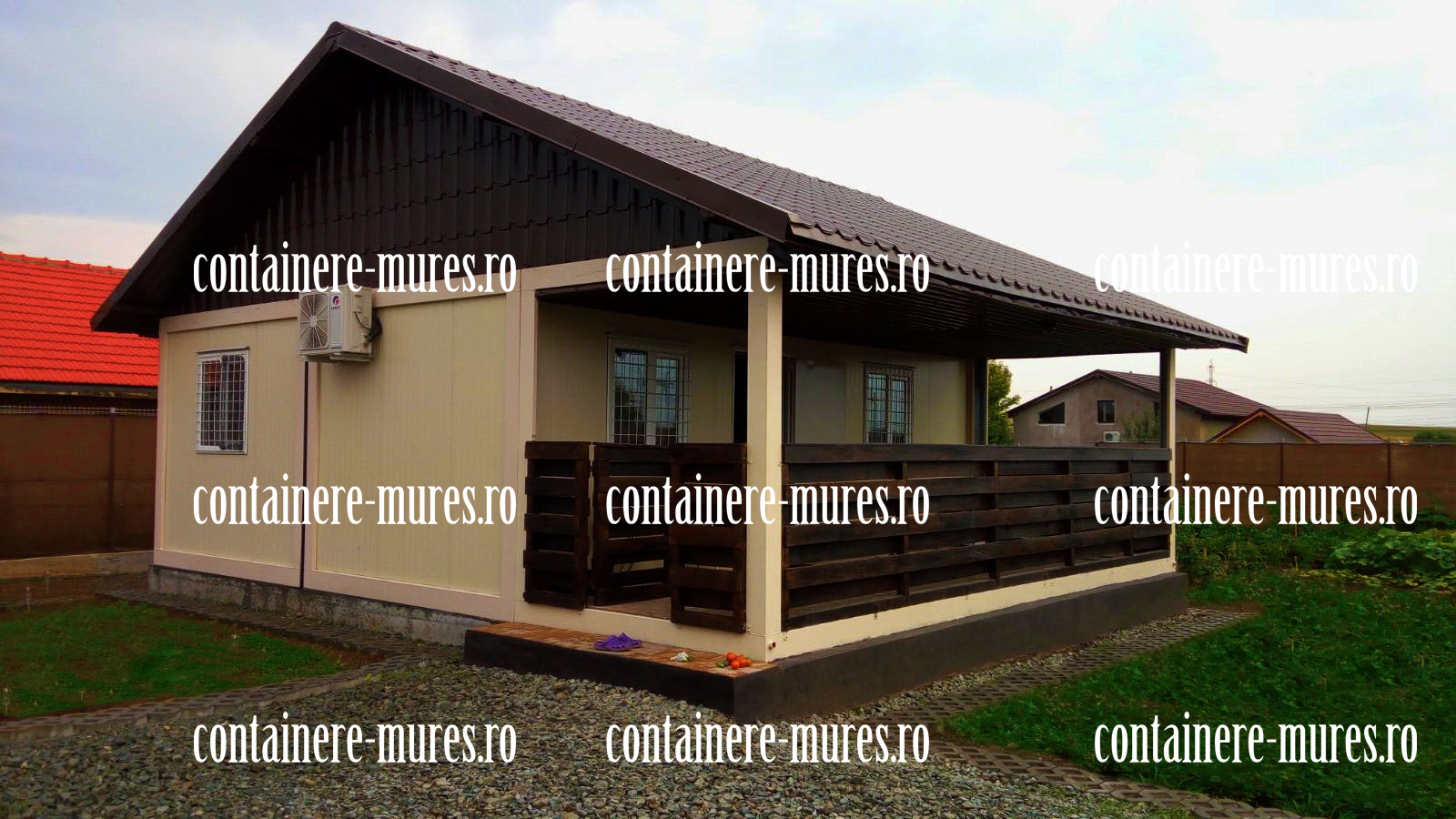case container Mures