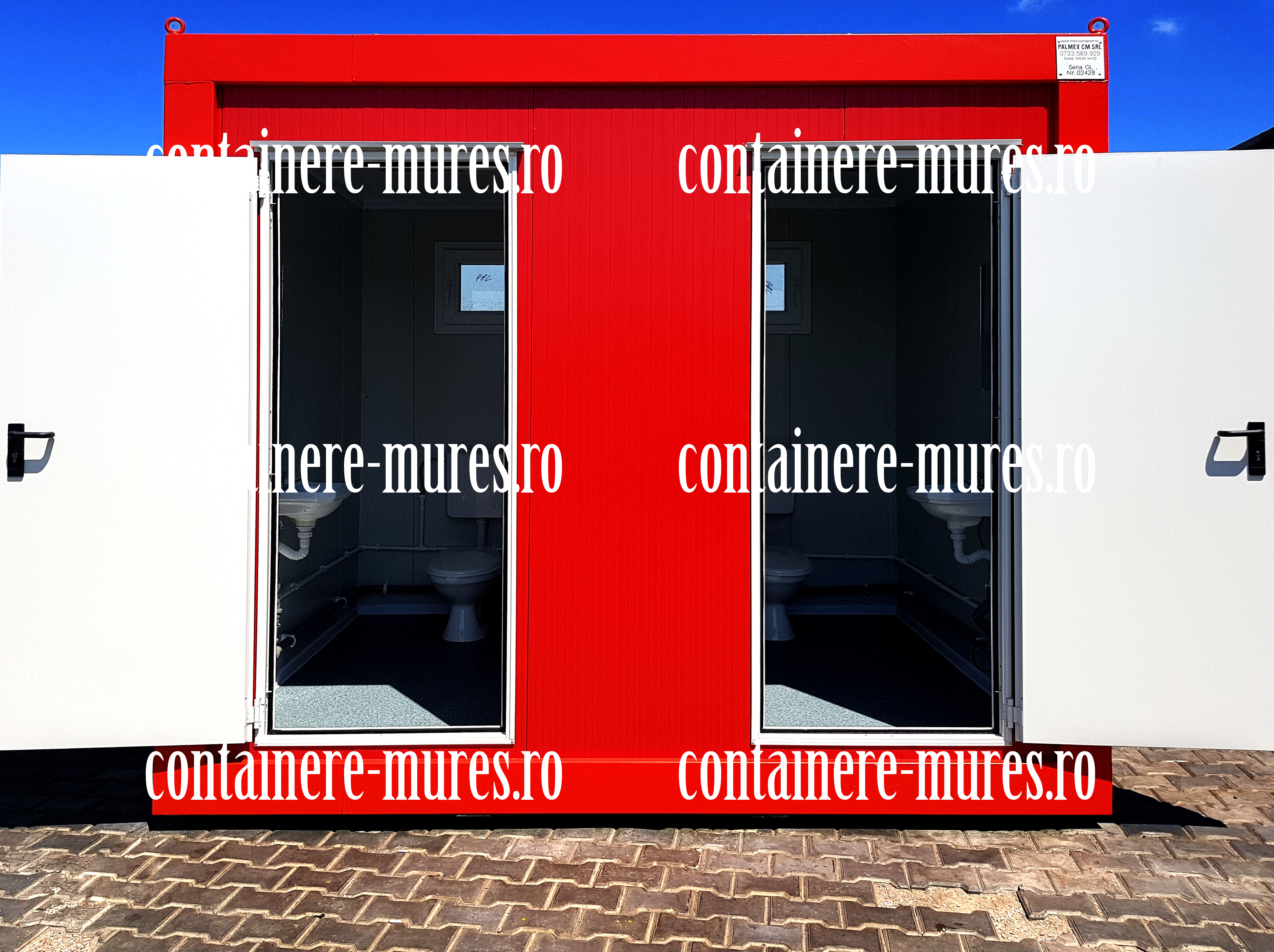 case modulare container Mures
