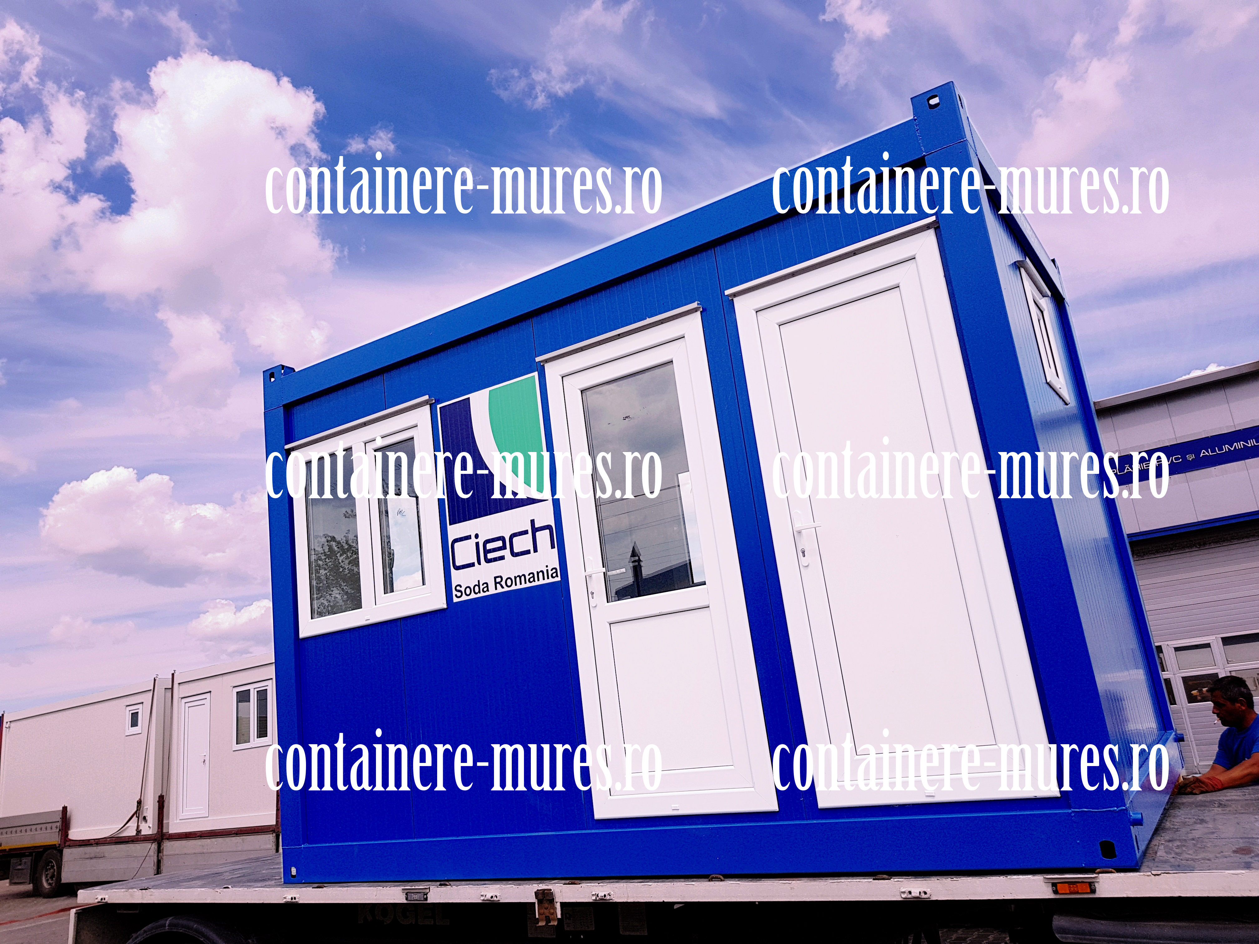 constructii din container Mures