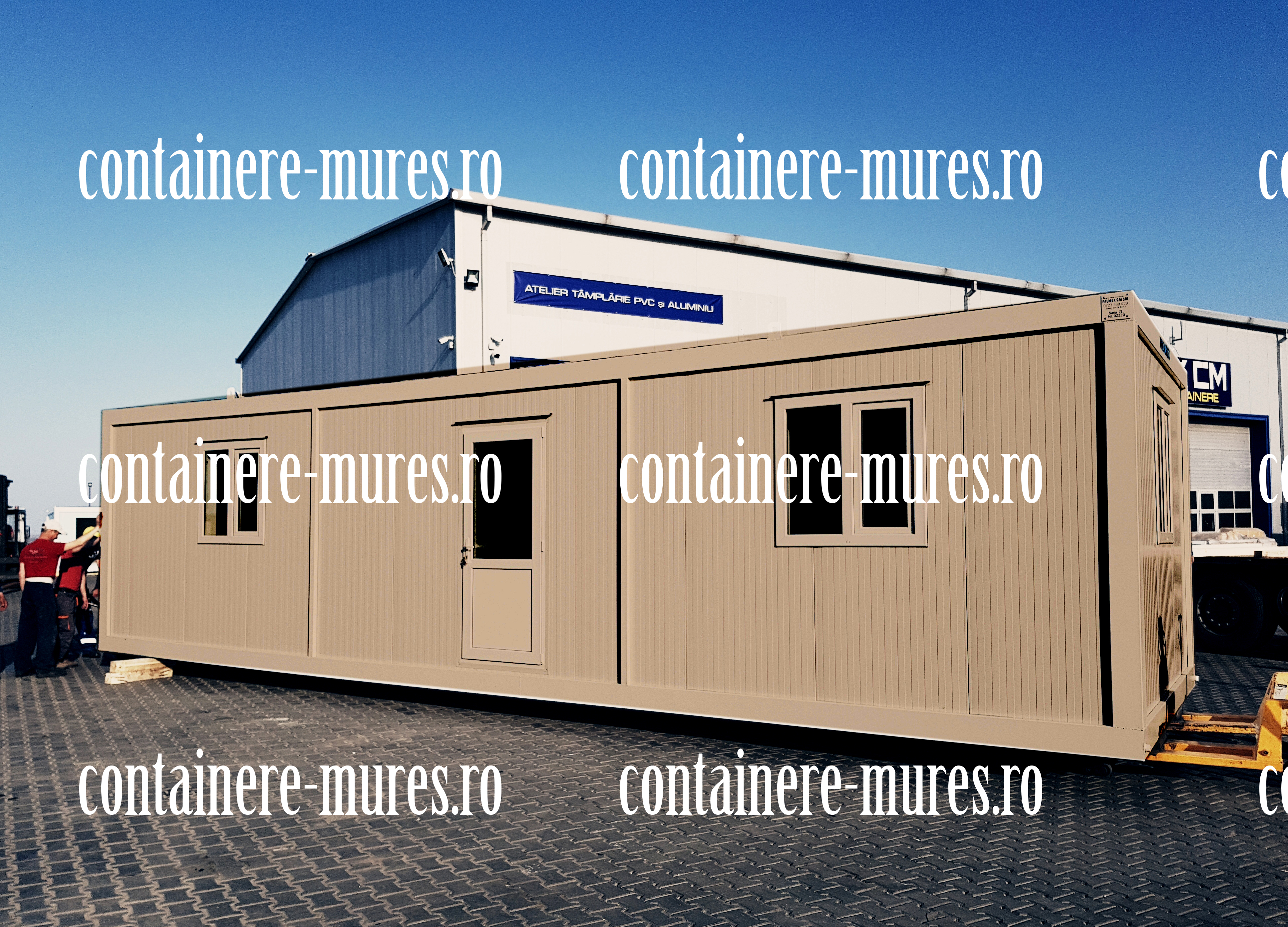 containere locuibile Mures