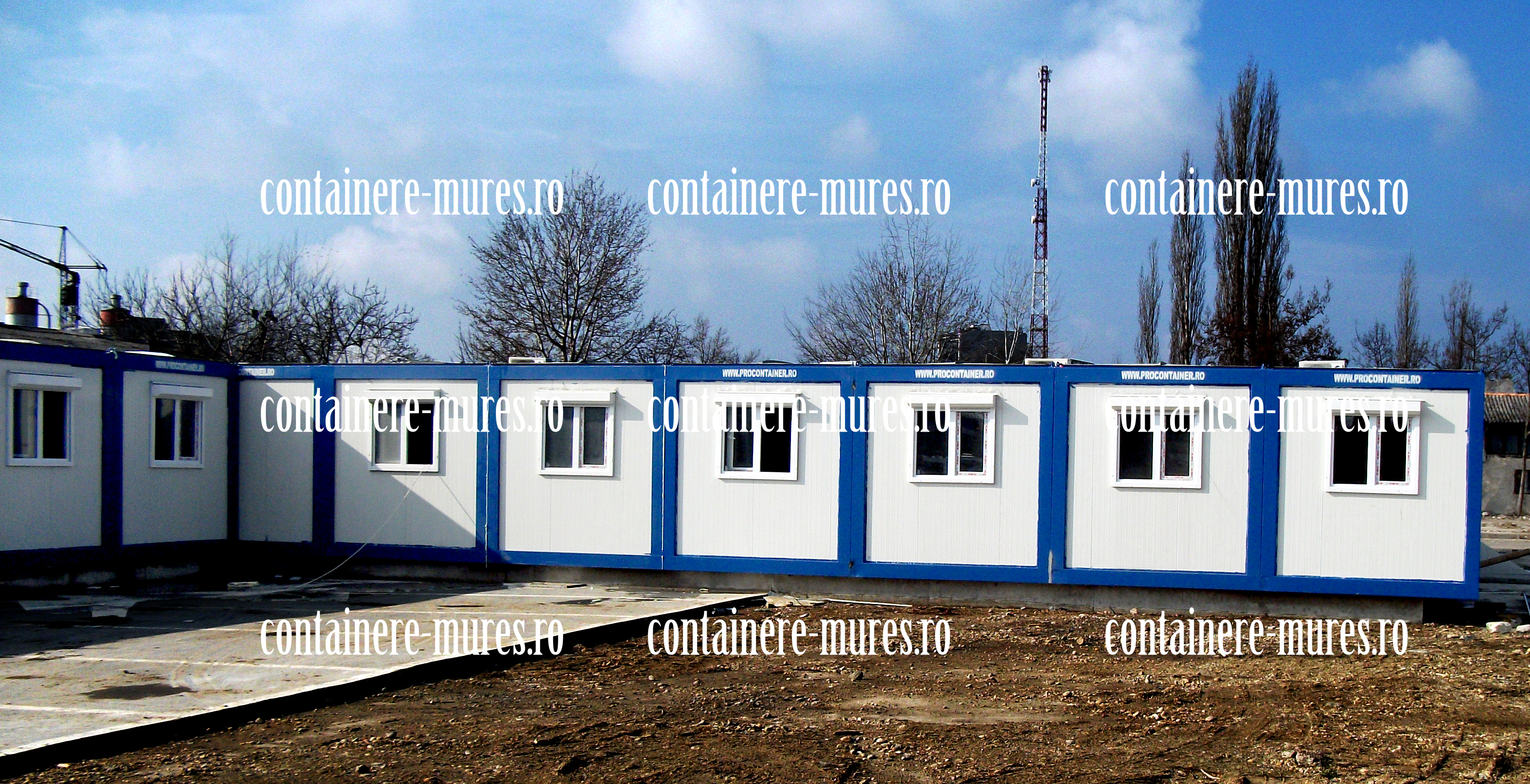 inchiriere container santier Mures