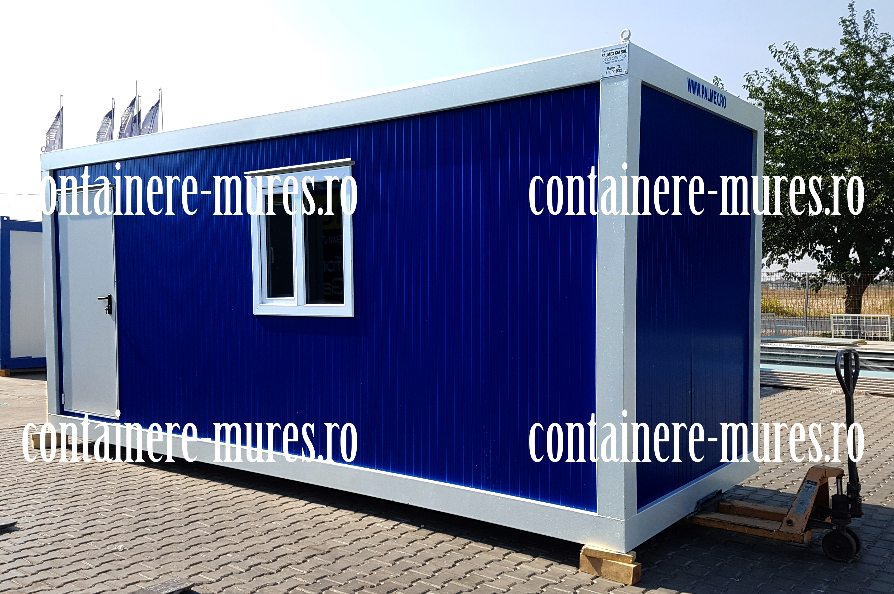 pret container second hand Mures