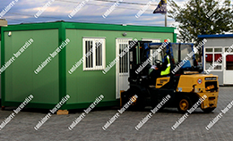 container dormitor second hand Mures